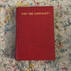 Why the Capitalist?- Fredrick Haller